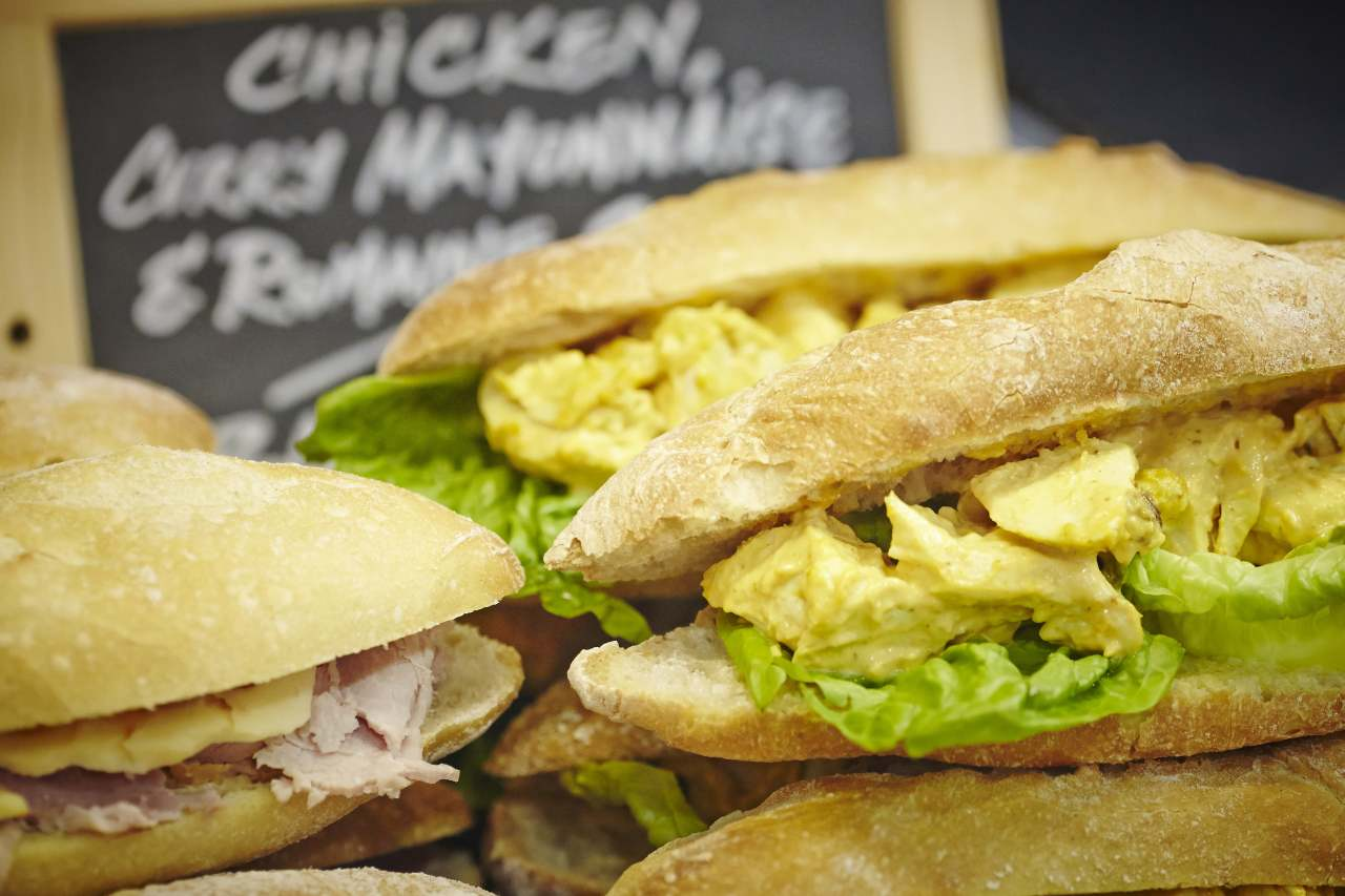 Kelly Cafe Chicken Curry Baguette